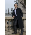 Manteau long en cachemire